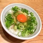 らーめん 煮干し裕次郎 Lab - 煮干し香る玉子かけご飯