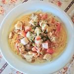 パスタクラブフェローズ - 料理写真:チキンのクリームソース