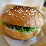 カフェ ガーデン - プチハンバーガー