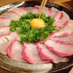 Uogashisakabaekimaehamaken - ブリの薄造り