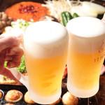 ポン吉 - 料理写真:鉄板で宴会