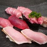 丸長寿司 - 塩釜まぐろづくし