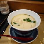 丸長寿司 - 茶碗蒸し