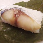 京の加悦寿司 - 鯖