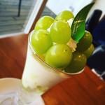 ホシ フルーツ - マスカットパフェ