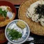 杵屋 - かつ丼定食