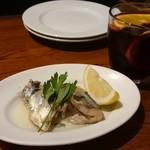西荻RISE - 秋刀魚のオリーブオイル漬け