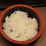 しゃくなげの湯お食事処 有明庵 - お代わりの寿司飯