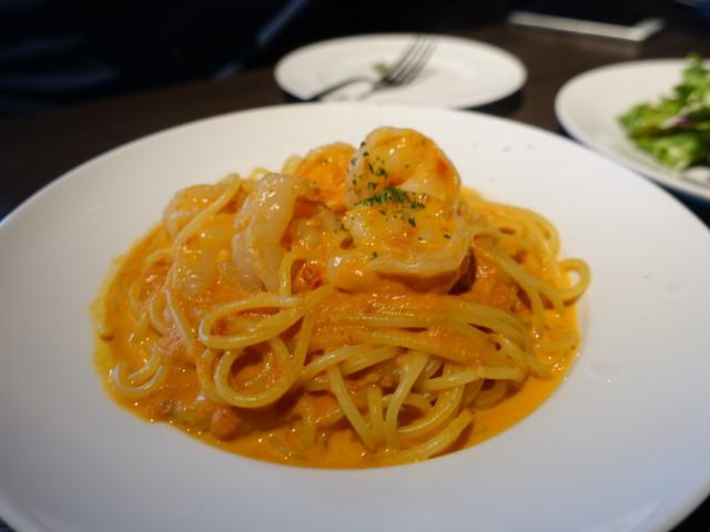 洋麺バルPastaBA - 海老のトマトソース