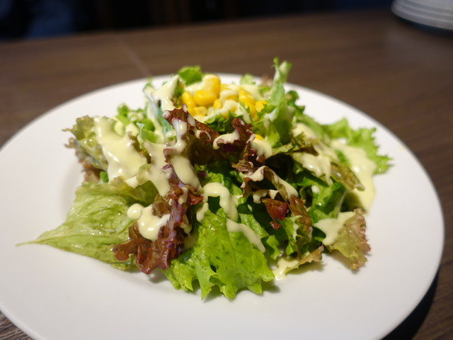 洋麺バルPastaBA - セットにサラダ