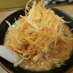 くるまやラーメン - ネギ味噌
