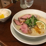 57224383 - 鶏白湯+半ライス