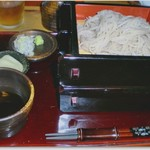 三立十割 蕎麦人 - 料理写真:納得の噛み応地