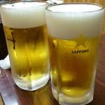 57226724 - まずは生大ビールでかんぱーい@2016/10/9