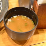 かつ心 - 味噌汁