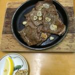 ダイワ食堂 - 佐賀牛鉄板焼き¥800 こちらもなかなかでした!