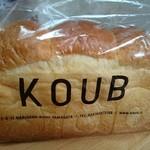 KOUB - やまべ牛乳食パン(350円)