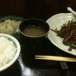 酒中花 空心  - 青椒肉絲(ランチ)