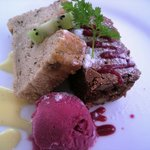 カフェレストラン ラヴィータ - ランチ、デザートプレートを 違う角度から・*☆。