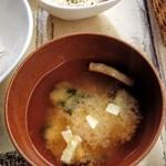 ニコキッチン -   味噌汁とタルタルソース