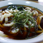 大和屋 - 料理写真:かけうどん(冷・550円)
