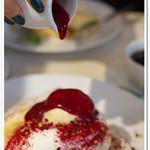 幸せのパンケーキ - クラシカルフランボワーズパンケーキ