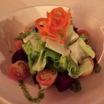 Alfredo's Tuscan Steakhouse - サラダ