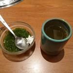 57232263 - 食後のデザートとお茶