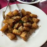 鉄板焼きバール ピアチェーレ - じゃがいものお惣菜、美味しかったですよ