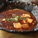 小野の離れ - オツレサマのは本日の一品 麻婆豆腐