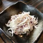 小野の離れ - サービスのジャコ寿司