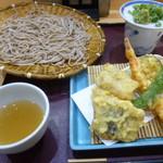 閑清居 - 鱧天ざる蕎麦