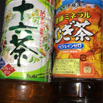 セブンイレブン - ミネラルむぎ茶 129円 アサヒ十六茶 129円