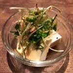 モハメド - カイワレと豆腐