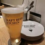 クラフトビアキッチン - マスカットピルス/独歩900円