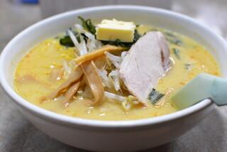 味の札幌 大西 - 味噌カレー牛乳ラーメン