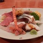 ちゅう心 - 上海鮮丼1540円