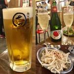焼肉ホルモン せいご - 生ビール・スパークリング・もやしナムル