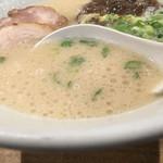 博多一風堂 - ぶくぶく優等生スープ♪