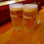 鳥・喰 わ家  - 生ビールで乾杯♪ 20時までは100円!