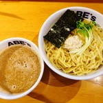 ラーメン ABE's - さんま醤油つけ麺