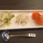 Sumiyakiandowainrizaburou - 前菜(サラダランチの方)