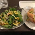 Sumiyakiandowainrizaburou - サラダランチ これに前菜とスープが付いて1,000円