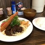 グリル ミヤコ - 料理写真:いただいた、「ミヤコランチ」980円(2016.10.11)