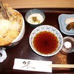 其ノ田水産 - ここから2016.9.26の画像 ランチの天丼