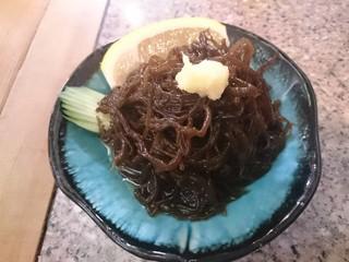 琉球居酒屋 赤瓦 - スヌイ(もずく酢)