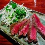 橙家 - 佐賀県産黒毛和牛ステーキ