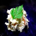 橙家 - 鯛わたのクリームチーズあえ