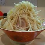 麺家 ぶんすけ - 醤油ラーメン野菜増し