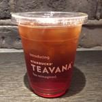 スターバックスコーヒー - ブラックのアイスティーのTallサイズ。 税込356円。 美味し。